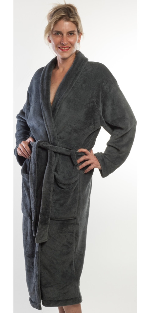40475f6678 Click on any of the thumbnails below to see the full-sized bathrobe. Coral  Fleece - Charcoal