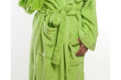 Coral Fleece - Lime Green