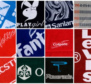 company branded towels