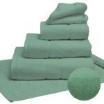 Terry Lustre 525GSM Sea Green