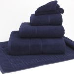 Terry Lustre 525GSM Navy