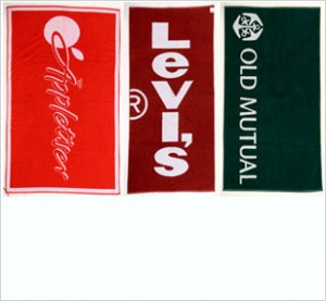 branded towels with logo